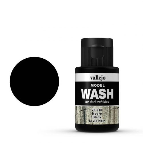 Model Wash 518 Black