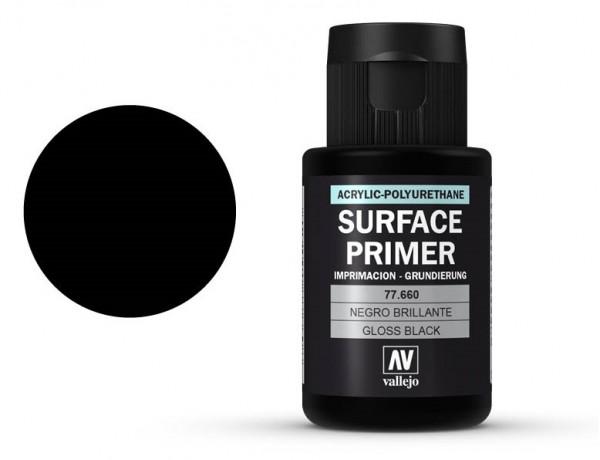 Vallejo Metal Color Gloss Black Primer 32 ml