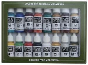 Vallejo Model Color: Set Medieval Colors (16 Farben)