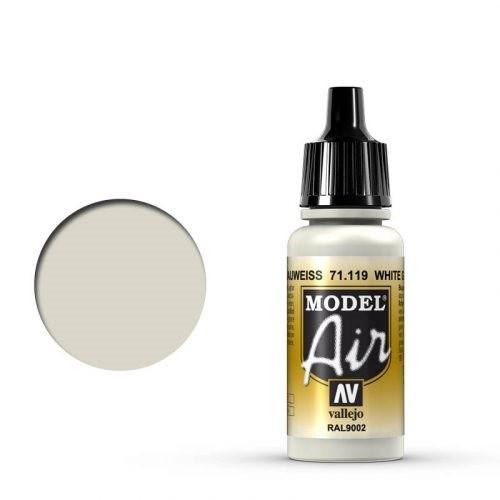 Vallejo Model Air: 71119 White Grey 17 ml