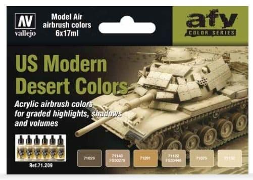 Model Air: Model Air Set US Modern Desert Colors
