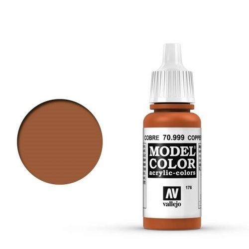 Vallejo Model Color: 176 Kupfer (Copper), 17 ml (999)
