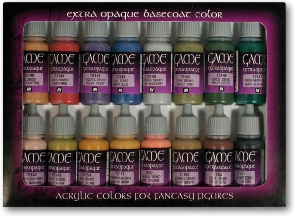 Extra Opaque Basecoat Colours (16) (all)