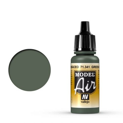 Vallejo Model Air: 71341 Green Grey 17ml