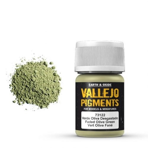 Vallejo Pigment Faded Olive Green 30ml