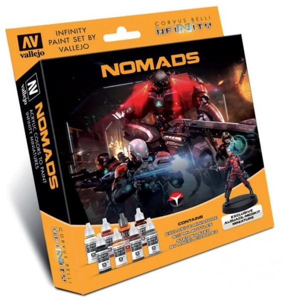 Vallejo Model Color: Infinity Nomads Exclusive Miniature Paint Set
