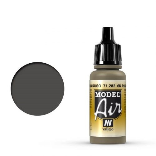 Vallejo Model Air: 71282 6K Russian Brown 17ml