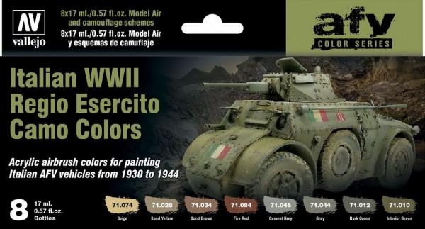 Italian WWII Regio Esercito Camo Colors (8)