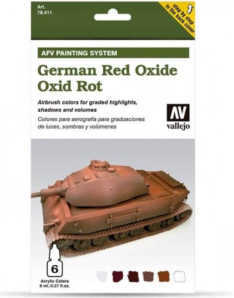 Model Air: Model Air Set AFV German Red Oxide Set (6)