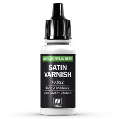Vallejo Model Color: 194 Satinlack (Satin Varnish), 17 ml (522)