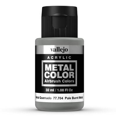 Vallejo Metal Color 704 Pale Burnt Metal 32 ml.