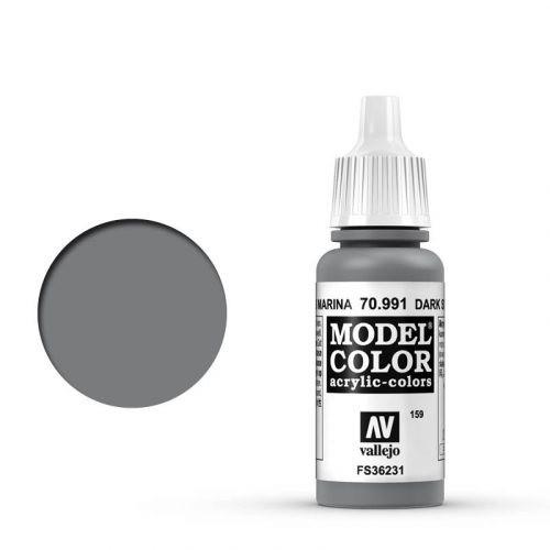 Vallejo Model Color: 159 Staubgrau (Dark Sea Grey), 17 ml (991)