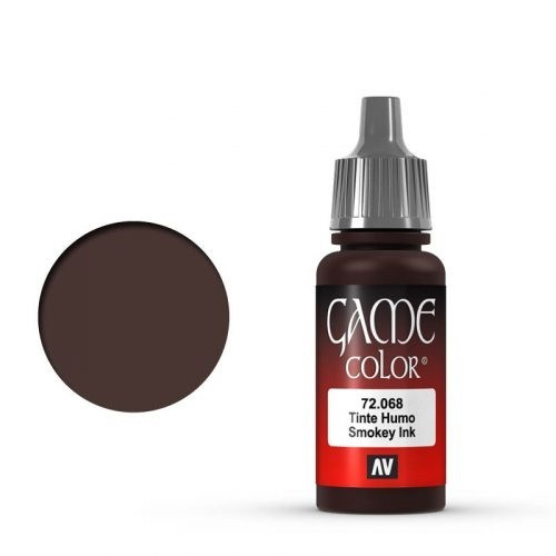 Vallejo Game Color Ink: 068 Smokey Ink, 17 ml