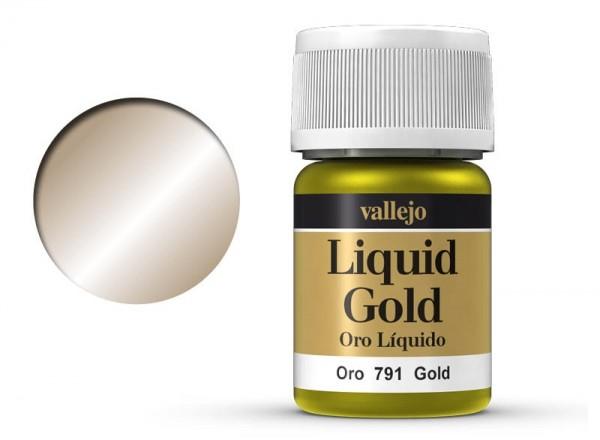 Vallejo Model Color: 212 Gold (Gold), 35 ml (791)