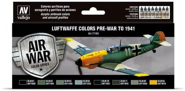Model Air: Model Air Set Luftwaffe Pre-War to 1941 (8)