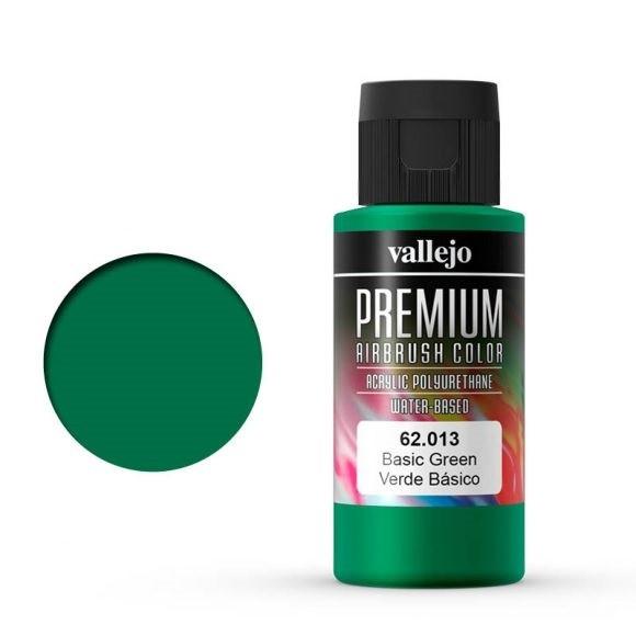 Vallejo Premium: Basic Green (Polyu.) (60ml)