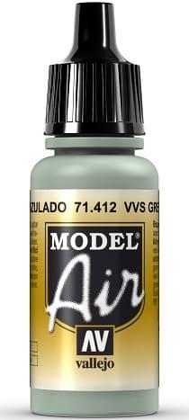 """Vallejo Model Air: 71412 """"VVS Grey Blue"""" 17ml"""