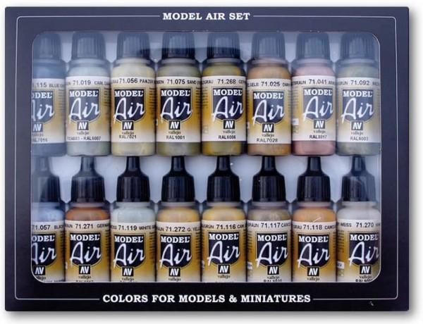 Model Air: Model Air Set German WWII Europe & Africa (16)