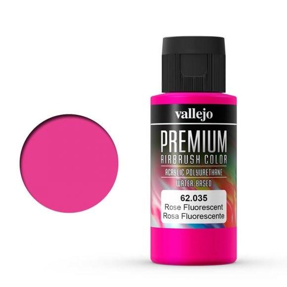 Vallejo Premium: Rose Fluo (Polyu.) (60ml)