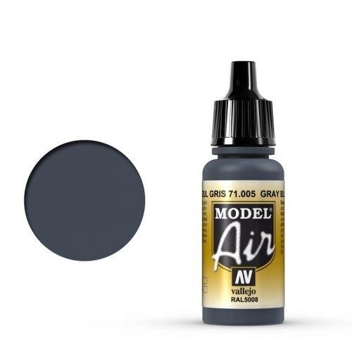 Vallejo Model Air: 005 Grey Blue, 17 ml