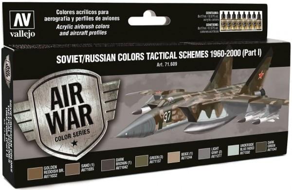 Model Air: Model Air Set Soviet / Russian colors Tactical Schemes 1 (8)