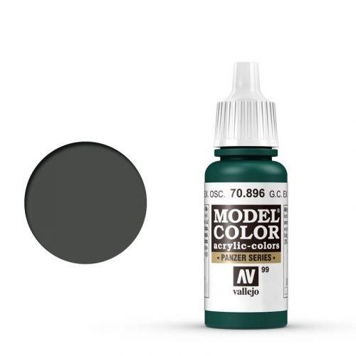 Vallejo Model Color: 099 Schwarzgrün (German Camo Extra Dark), 17 ml (896)