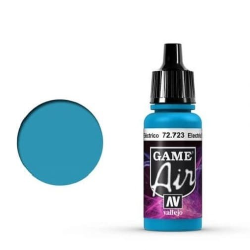 Vallejo Game Air 723 Electric Blue, 17 ml