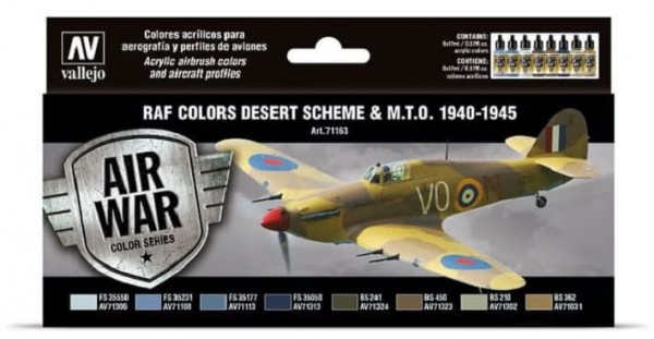 Model Air: Model Air Set RAF & FAA Desert Scheme & MTO 1940-45 (8)