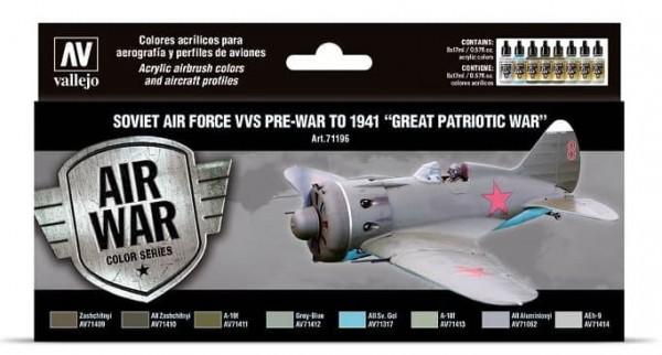 Model Air: Soviet Air Force VVS Pre-War to 1941 Great Patriotic War (8)