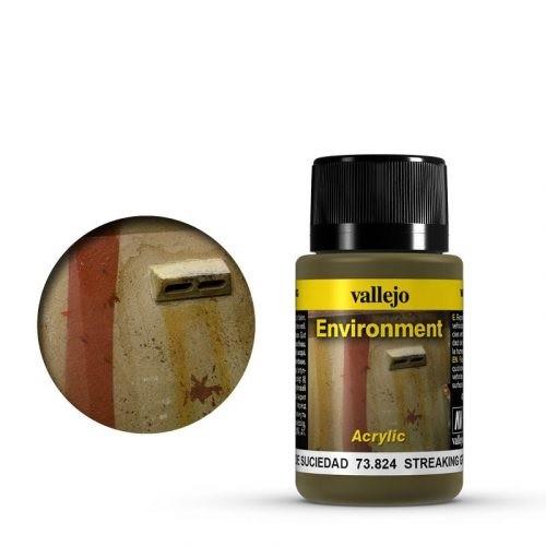 Vallejo Weathering Effects Environment Streaking Grime 40 ml