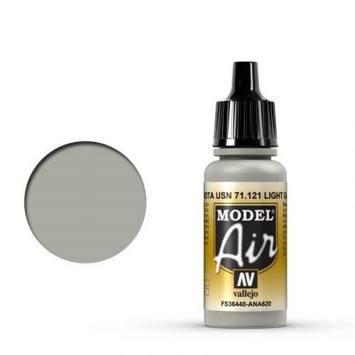 Vallejo Model Air: 71121 Light Gull Gray 17 ml