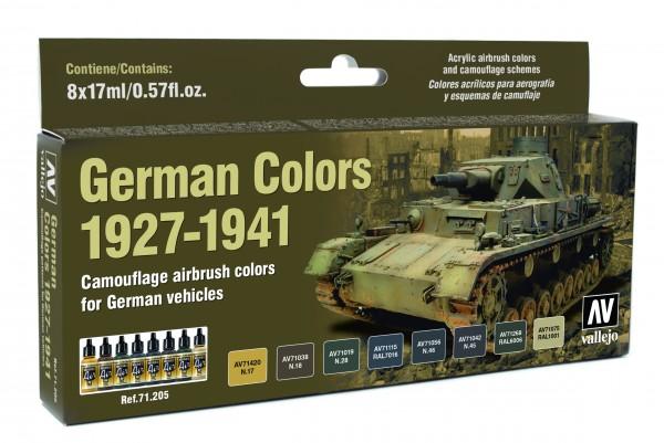 Model Air: Model Air Set German Vehicles Colors 1927-1941 (8)