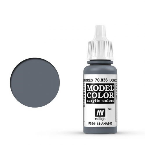 Vallejo Model Color: 161 London Grau (London Grey), 17 ml (836)
