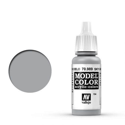 Vallejo Model Color: 154 Signalgrau (Sky Grey), 17 ml (989)