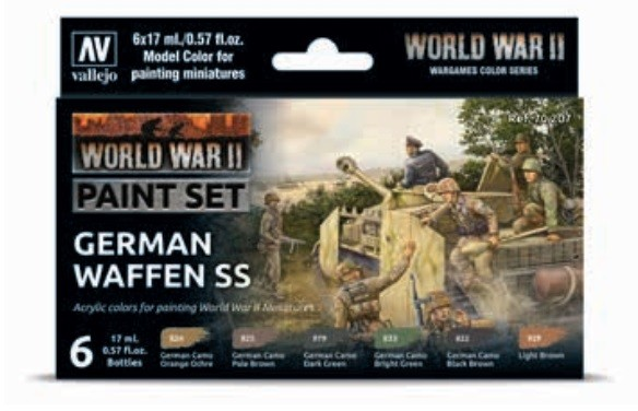 Vallejo Model Color: Model Color: WWII German Waffen SS